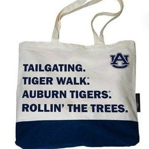 Auburn Tigers Favorite Things Canvas Tote - New!